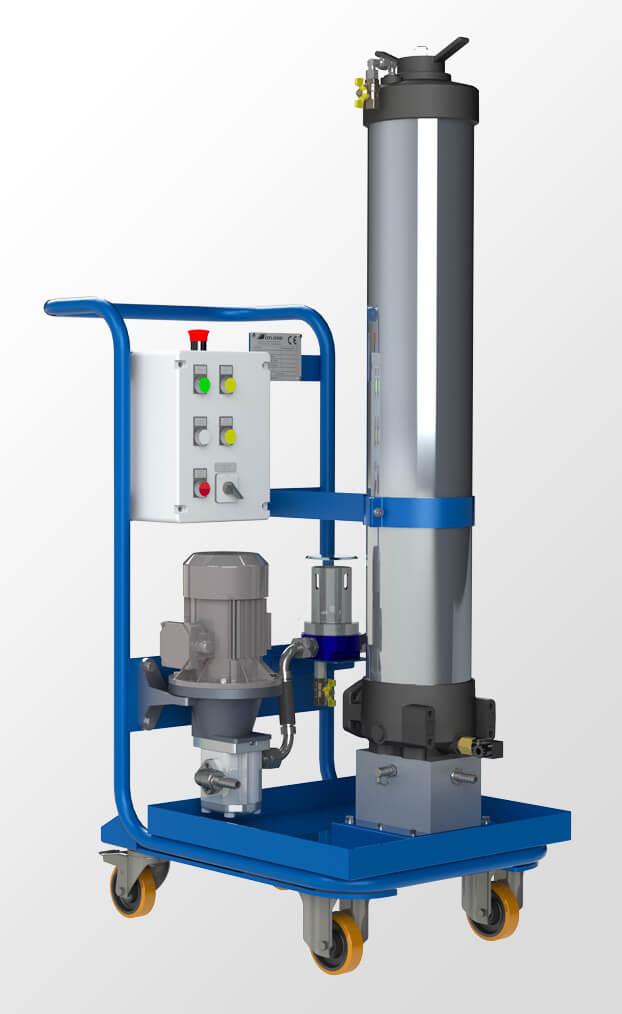 Fluidcare-correzione-carrello dialisi mobile