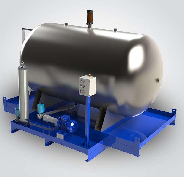 fluidcare pulizia olio nuovo - serbatoi sistema dialisi integrato
