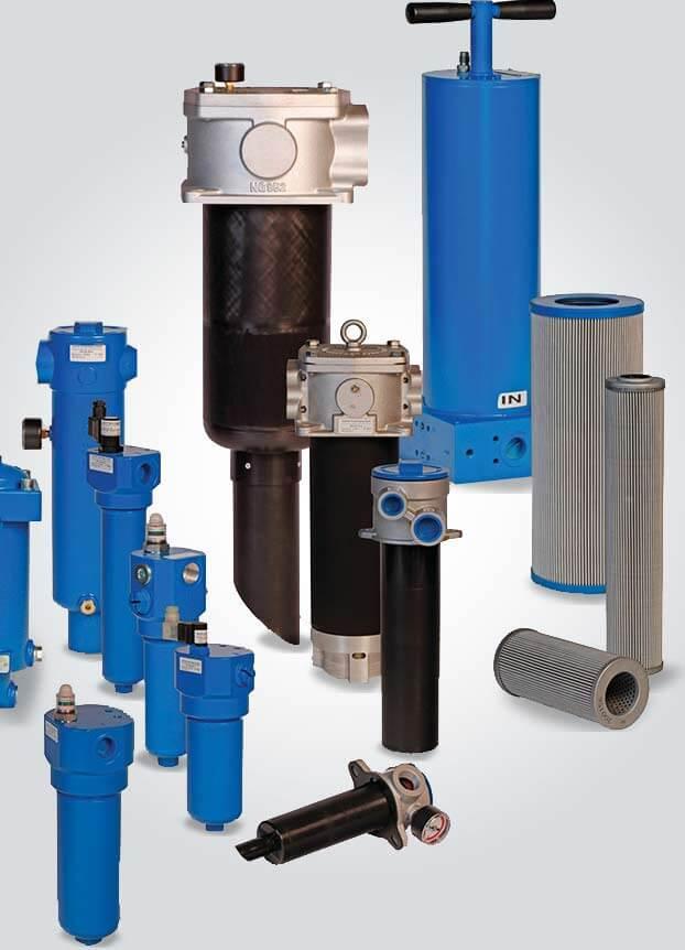 Deltafluid Elementi filtranti idraulici